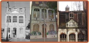 Edifício escolar da Sociedade José Estevão no Lumiar